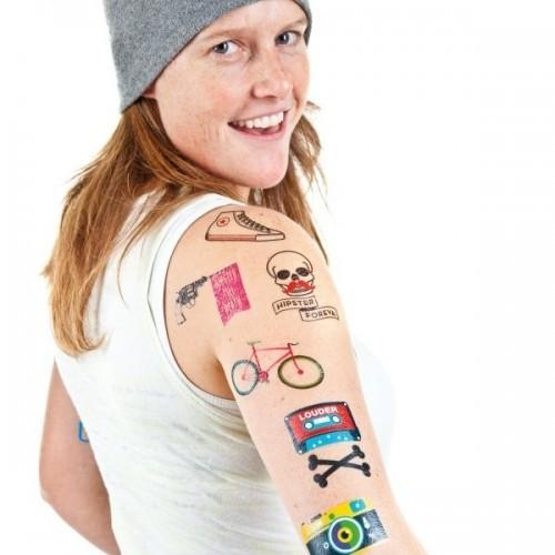 Tatuaggi Hipster tattoos