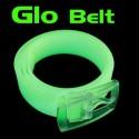 Cintura fluorescente Glow si illumina al buio