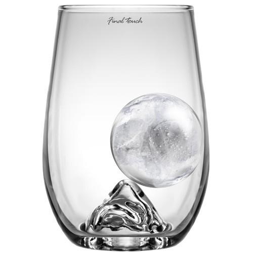 Bicchiere RockGlass grande con palla di ghiaccio