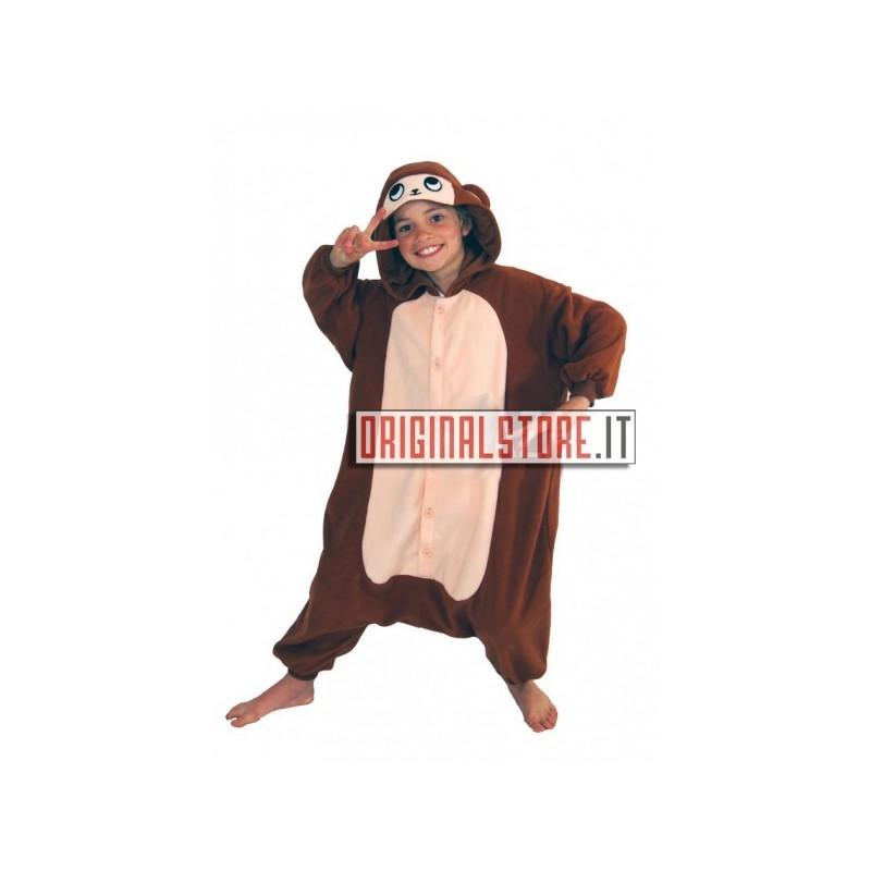 Pigiama intero Scimmia Bambino Kigurumi