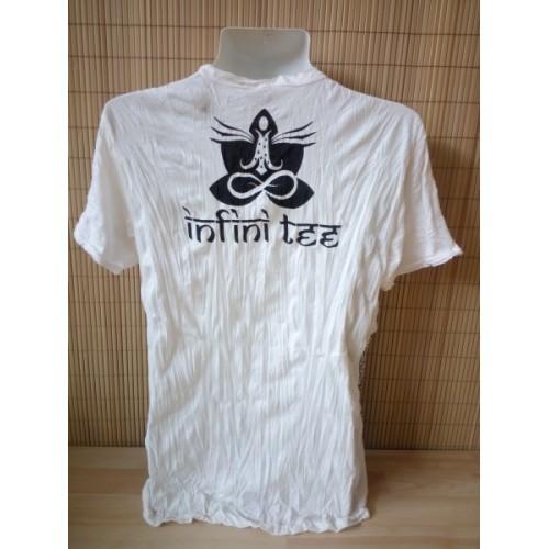T-shirt Sure Design Elefante Ohm Cotone nero su bianco