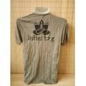 T-shirt Sure Design Elefante Ohm Cotone nero su verde