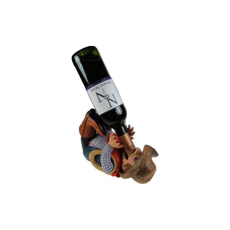 Porta bottiglia cowboy