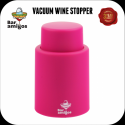 Tappo vino sotto vuoto colore fucsia