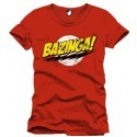 The big bang theory T-shirt Bazinga rossa