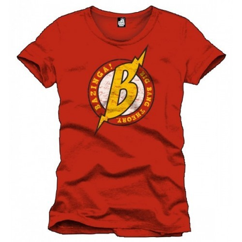The big bang theory t-shirt big B rossa
