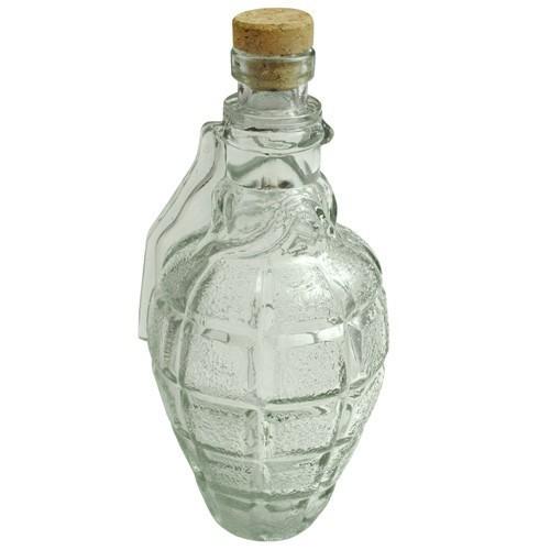 Decanter granata bottiglia in vetro 500ml