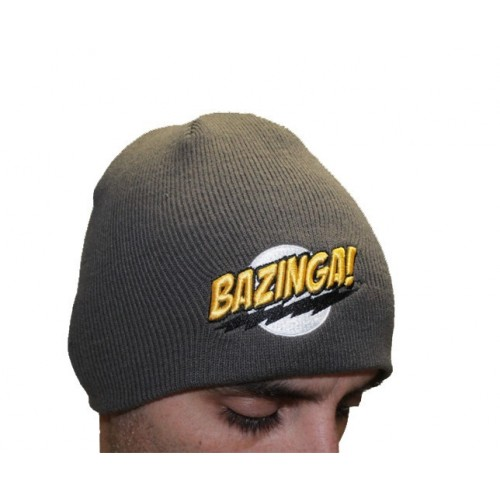 Cappello Bazinga The Big Bang Theory grigio