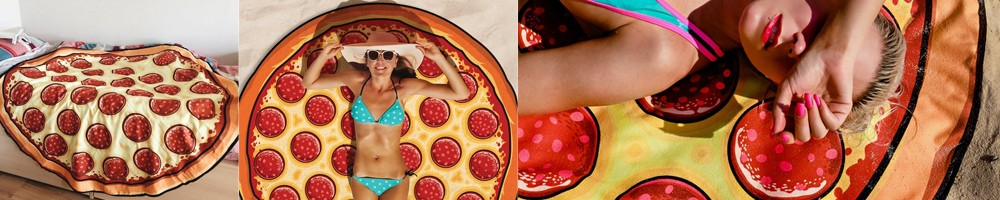 Asciugamano pizza
