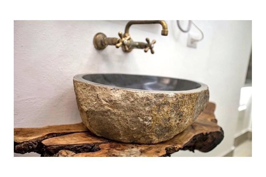 Lavandini in pietra naturale per arredare il tuo bagno - Bagno pietra naturale ...